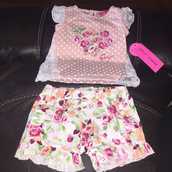 97330c7ff23f Betsey Johnson Matching Sets | Baby Girls 2 Piece Set 36 Months ...